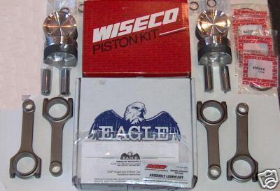 Eagle Rod Wiseco Pistons 3SGTE MR2 Turbo Celica GT4 865