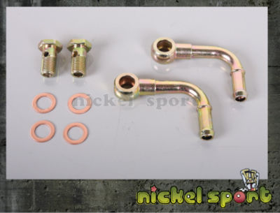 M12x1.5 Turbo Water Coolant Pipe Kit Gart GT12 SAAB