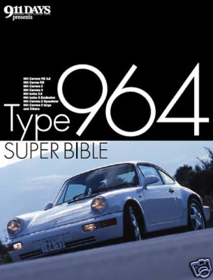 Porsche type 964 Super Bible book RS 911 turbo 3.8