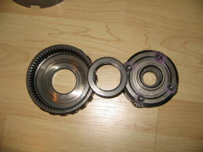 gm turbo 350 front planetary on bearing