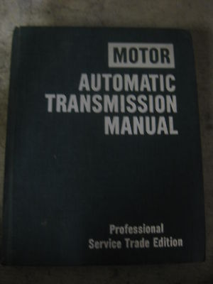 Motor Automatic Transmission Repair Manual 7th Ed 1977