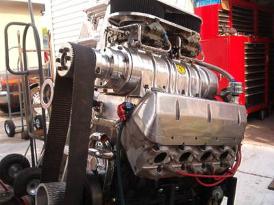 Big Block Chevy BBC Blown 605 Dart Engine