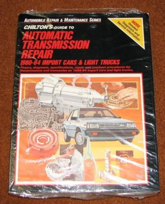 Chiltons Automatic Transmission Repair 198084 Import