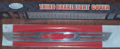 Chevy Chrome Third Brake Light Cover Free Shipping