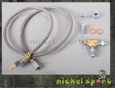 Gart T2 T25 T28 GT25 GT28 Turbo Oil Feed Line Kit