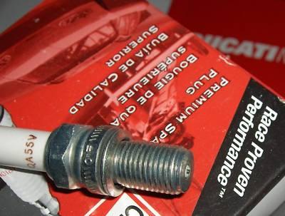 2X DUCATI  748 996 888 RACING SPARK PLUG A55V 67040092A