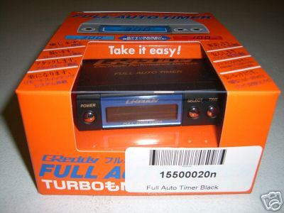 BRAND  Greddy Full Auto Turbo Timer FREE SHIPPING