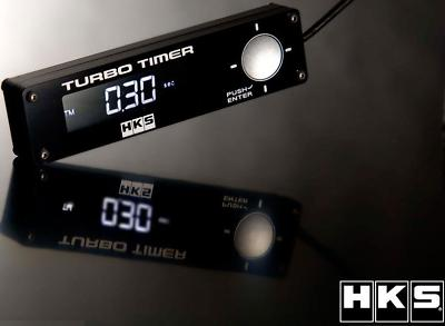 BRAND  HKS TYPE 1 TURBO TIMER BLACK WITH BLUE LED