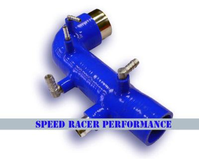 0206 Subaru Impreza WRX Turbo Inlet 4 PLY BLUE