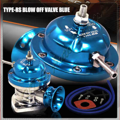 Universal Blue TYPE RS Blow Off Valve BOV for Turbo