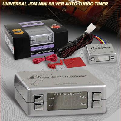 Universal JDM Silver Mini Auto Turbo Timer Controller