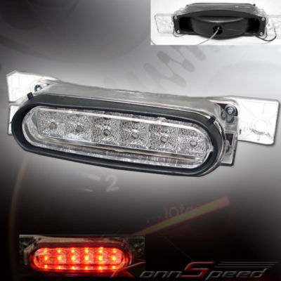 04 05 06 07 08 MAZDA RX8 LED 3RD BRAKE TAIL LIGHT CLEAR