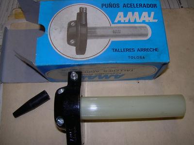 bultaco ossa montesa derbi alloy throttle amal