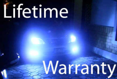 #1 BLUE 9004 XENON HID HIGH & LOW BEAM HEADLIGHTS 8500K