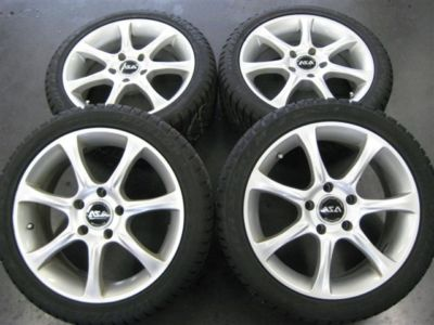 Lightly  BMW alluminum winter tires and wheels