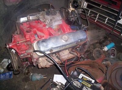 1967 Pontiac 326 w/ 455 heads Firebird engine Turbo 350
