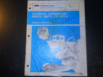 1969 70 71 72 FORD MERCURY AUTOMATIC TRANSMISSION BOOK