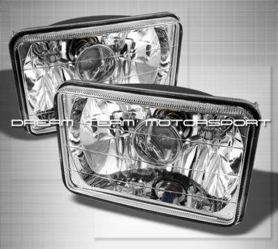 4×6 PROJECTOR HEADLIGHTS FORD MUSTANG PROBE CHEVY S10