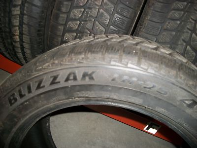4  285/45R19 Blizzak LM25 4X4 Snow / Winter Tires.