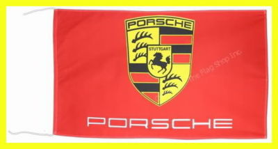 PORSCHE  RED FLAG  BANNER  gt3 rs turbo cayman s