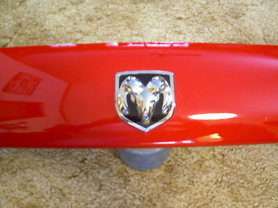 DODGE RAM BUG SHIELD AIR DEFLECTOR FROM 2002 1500 RED
