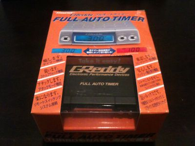 Greddy Turbo Timer Full Auto Black
