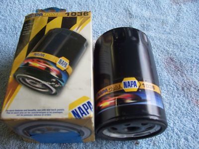 NAPA GOLD 1036 Oil Filter '95 350 CI Chevy Engine