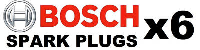 Bosch YR7MPP33 OE Spark Plugs, Set of 6