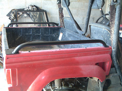 Yamaha Rhino Bed Rails (Cycle Country ) Cosmetic Blems