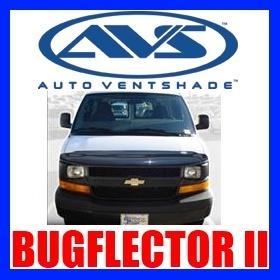 25707 AVS Bug Hood Shield Chevy Express GMC Savana Van