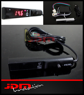 Black JDM Pen Style Digital Auto Turbo Timer Controller