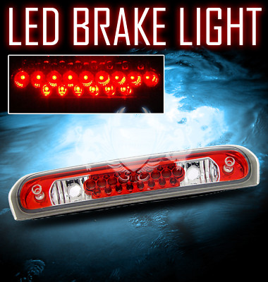 0208 DODGE RAM RED 3RD THIRD LED BRAKE TRUNK LIGHT 07