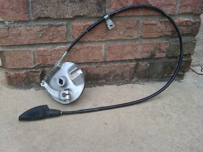 Honda CRF 100 brake cable and drum
