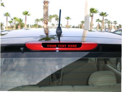 06 07 08 09 2010 Nissan Versa 3rd brake light cover