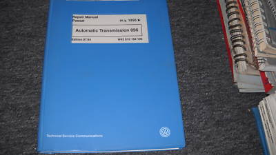 1995 97 VW Passat Auto Transmission 096 Service Manual