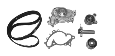 CRP TB257LK1 Engine Timing Belt Kit With Wate