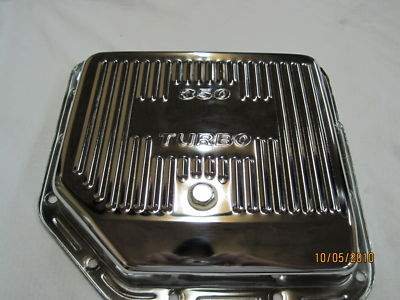 CHROME TRANS OIL PAN FOR GM TURBO 350 NICE