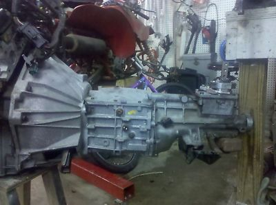 FORD MUSTANG TRANSMISSION TRANNY MANUAL