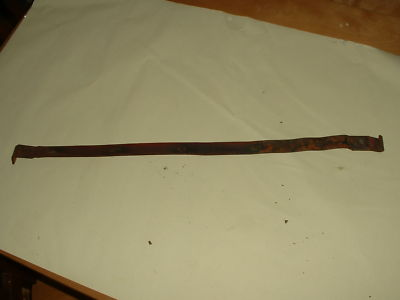 CJ2A Jeep Willys L 134 Flathead engine fuel tank strap