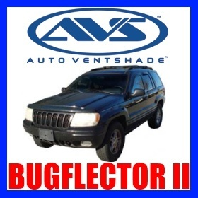 25502 AVS Bug Hood Shield Jeep Grand Cherokee 19992004