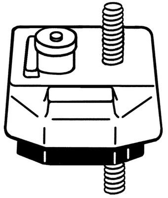 WESTAR EM2458 Motor Mounts