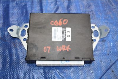 2007 Subaru Impreza WRX EJ25 Turbo Engine Computer ECU