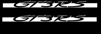 """Porsche GT3 RS"" 911 997 turbo decal sticker LOOK QTY2"