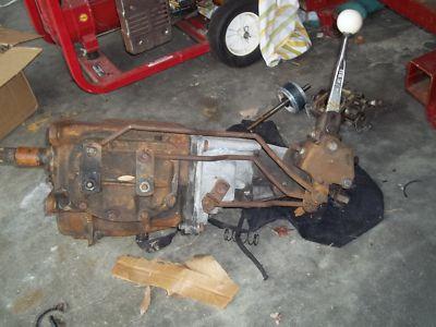 Borg Warner 4 speed manual transmission