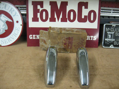 1952-1953 Ford Station Wagon Rear Bumper Guards