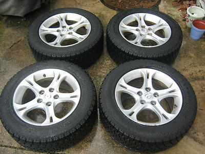 Mazda Rx8 OEM 16″ Wheels With Blizzak Winter Tires 225/55/16