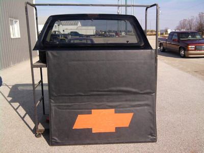 Chevy Short Bed Cab Extender With Bed Cover