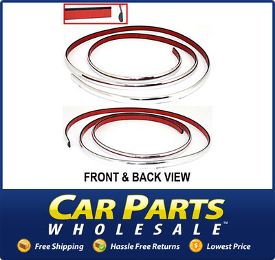 Bumper Trim Molding Front Chrome Ford Crown Victoria 2008 2007