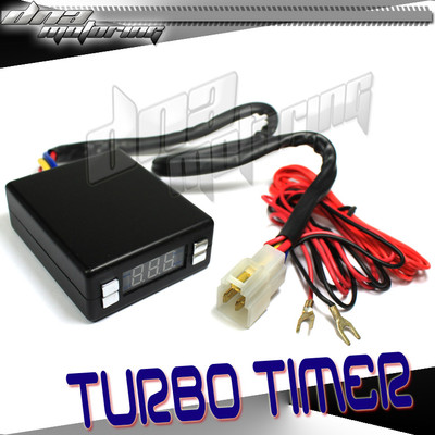 Black Box Style Digitel Led Display Turbo Timer PSI Boost Charger Turbocharger