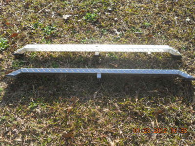Diamond Plate Truck Bed Rails Dodge Dakota